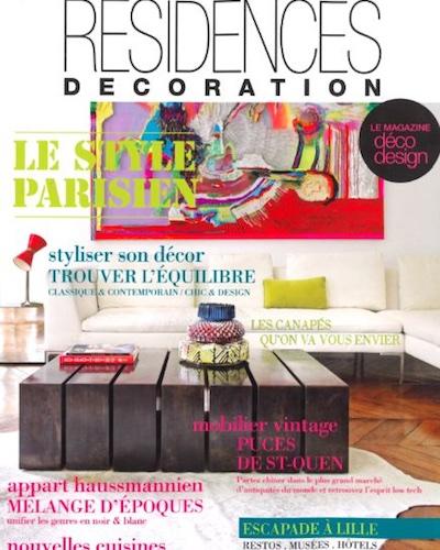 Parution - Eclaireur - No name Kitchen Manufacture  -  Laeticia Bocquet - Résidence Decoration -   21 Octobre 2015
