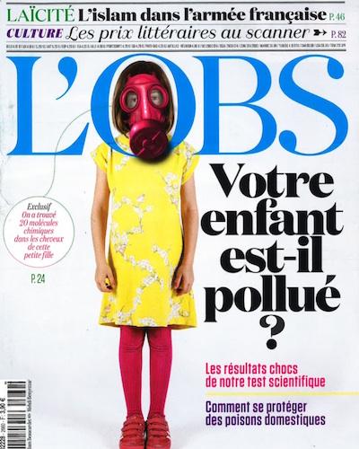 parution - Le tigrr - L'Obs - 29 octobre _4 novembre 2015 - Alexis Chenu Couverture