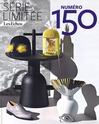 Parution Akillis - Cover Série Limitée Les Echos - Noémie Barré - 11:12:15