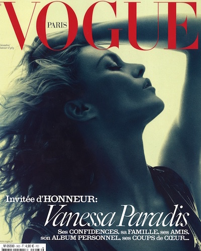 Parution Akillis - Cover Vogue - Décembre 2015 Janvier 2016 - Brune de Margerie